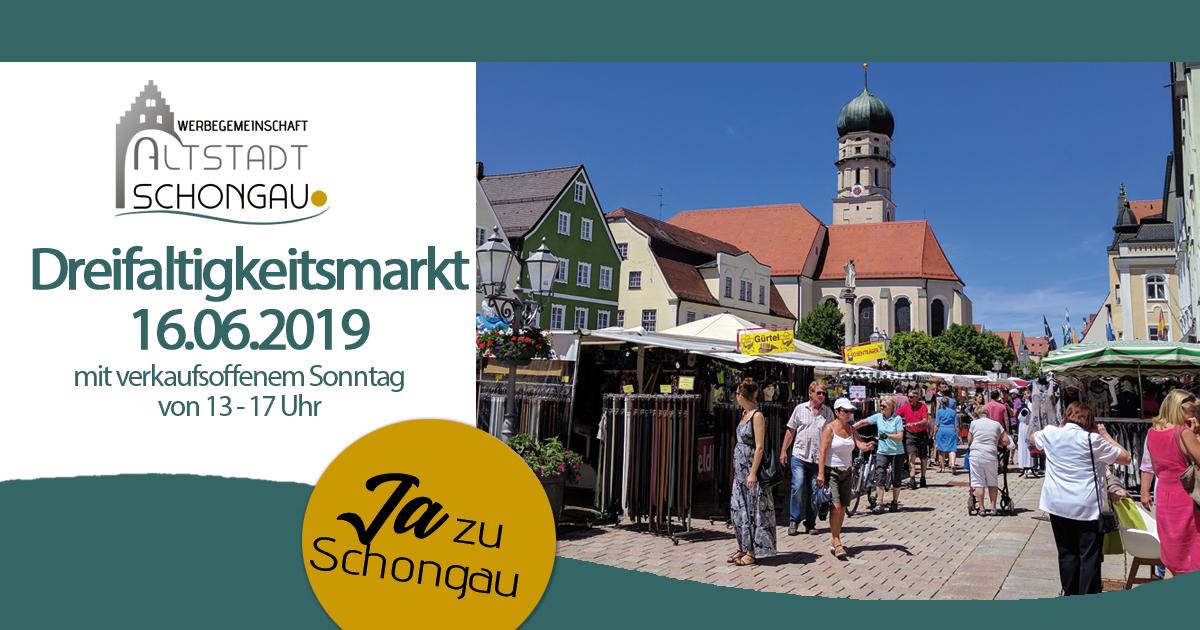 Dreifaltigkeitsmarkt in Schongau