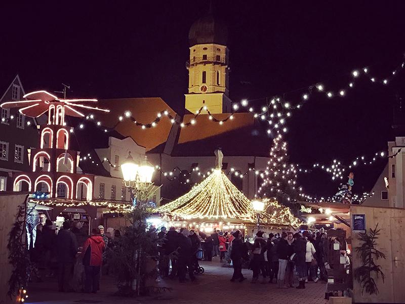 Weihnachtliche Altstadt Schongau